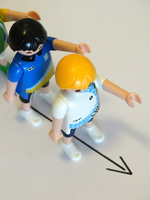 Playmobil figures toys, industry craft.