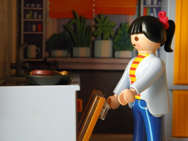 Playmobil kitchen toys, beauty fashion.