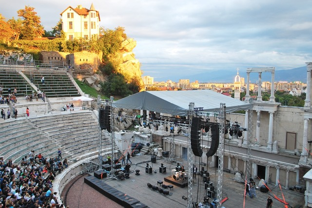 Plovdiv ancient theater.