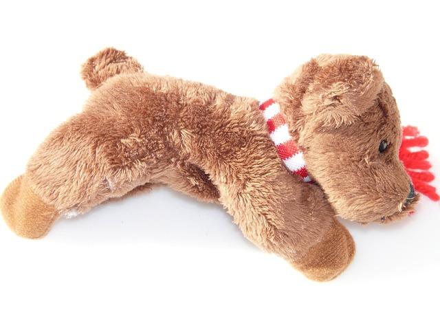 Plush dog soft toy animal, animals.