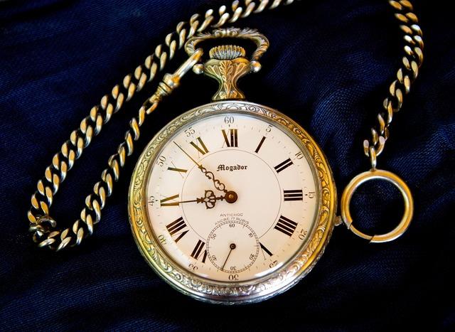 Pocket watch time flea market.