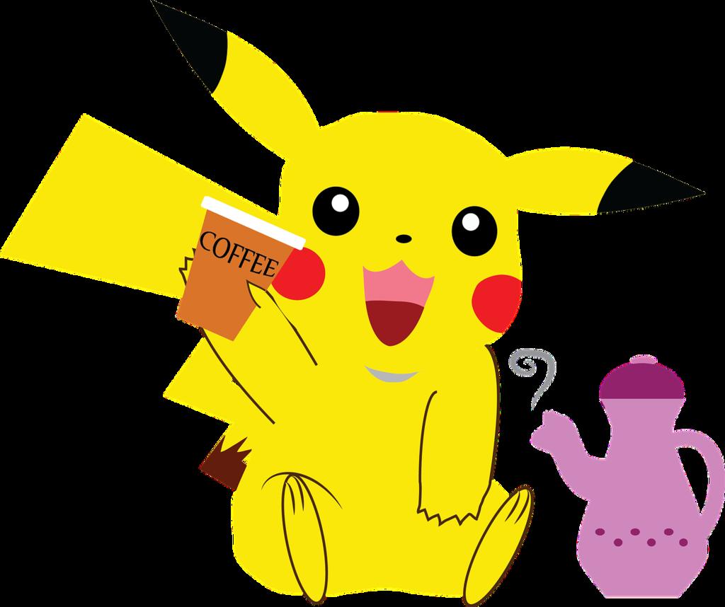 Pokemon pikachu coffee  - PICRYL Public Domain Image