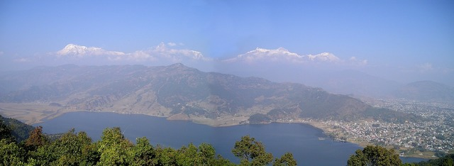 Pokhara nepal phewa see.