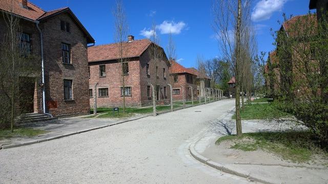 Poland auschwitz concentration, places monuments.