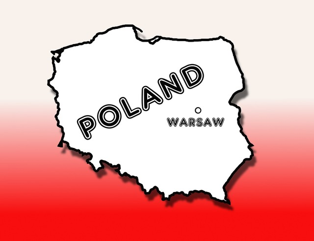 Poland country warsaw.
