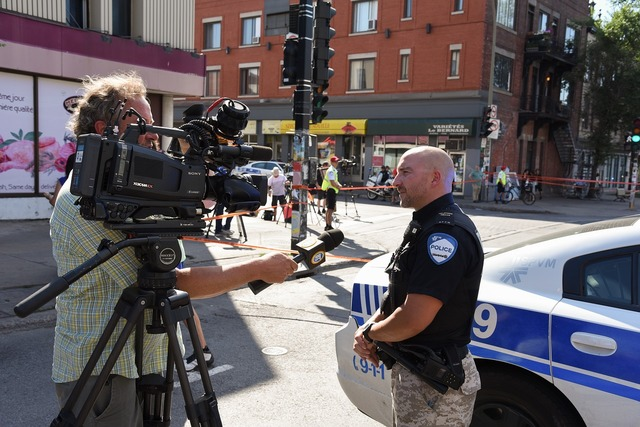 Police interview montreal.