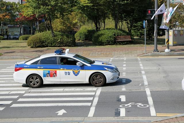 Police road car, transportation traffic.