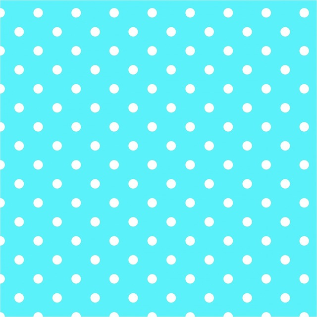 Polka dots aqua blue, backgrounds textures.