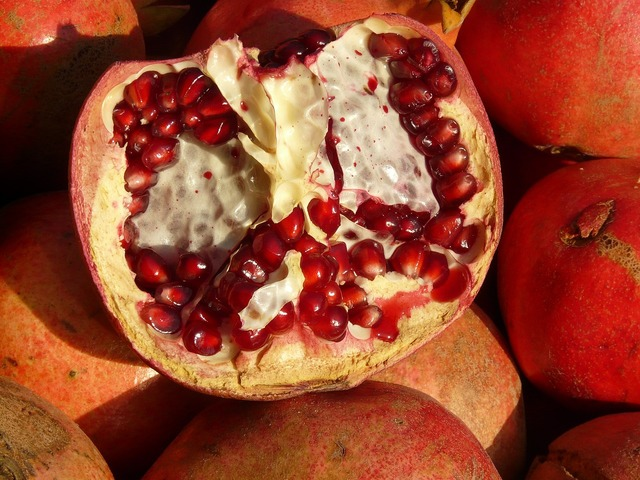 Pomegranate fruit apple, food drink.
