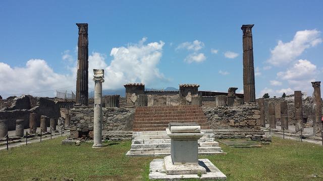 Pompeii naples archaeology, architecture buildings.