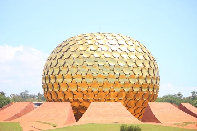 Pondicherry globe round.
