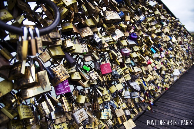 Pont des arts france paris, emotions.