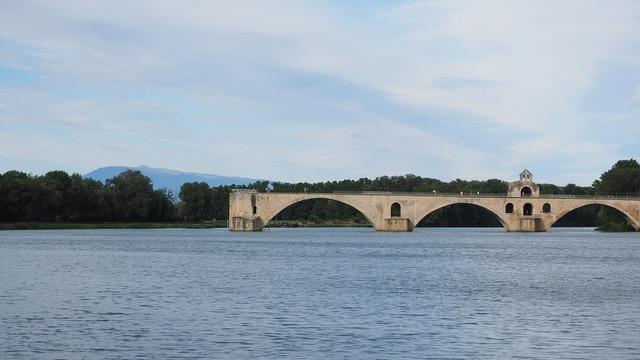 Pont saint bénézet pont d'avignon rhône, architecture buildings.
