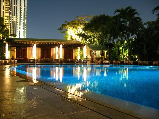 Pool palace swimming.