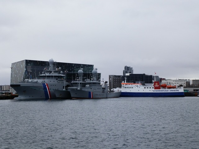 Port boats iceland.