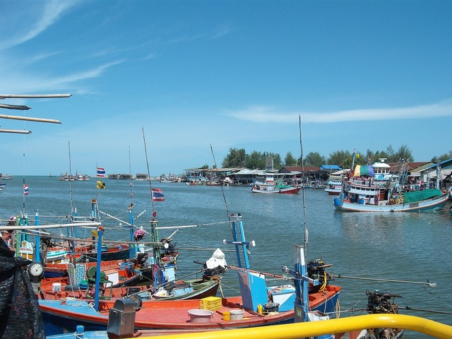 Port boats thailand.