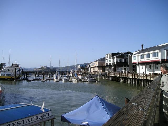 Port pier 39.