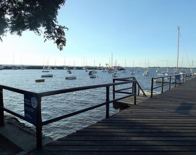Port yachts boats, nature landscapes.