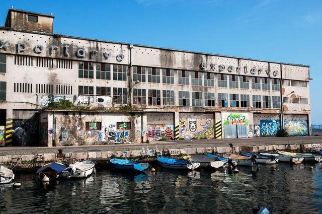Porto trade boats.
