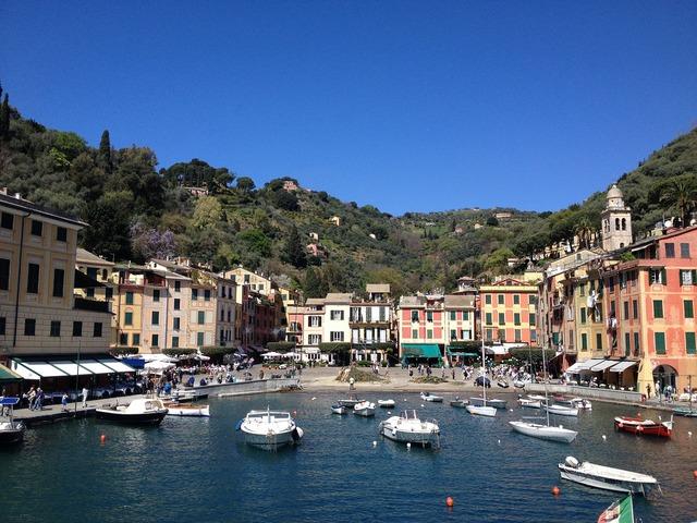 Portofino italy liguria.