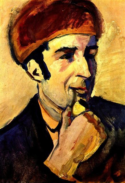 Portrait painting painter.