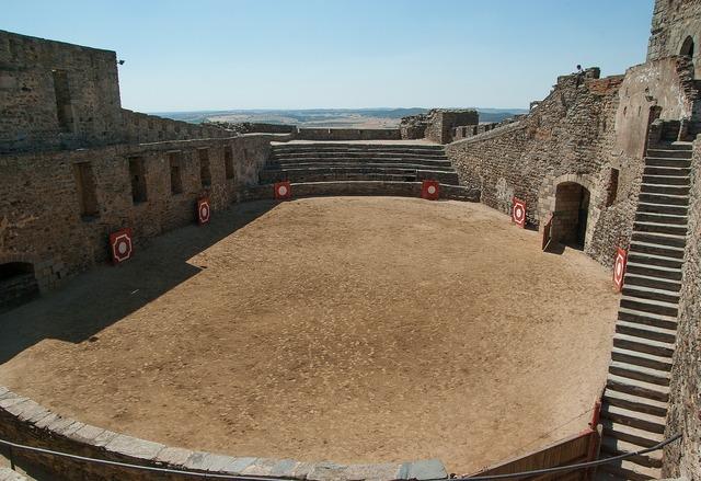 Portugal castle arena.