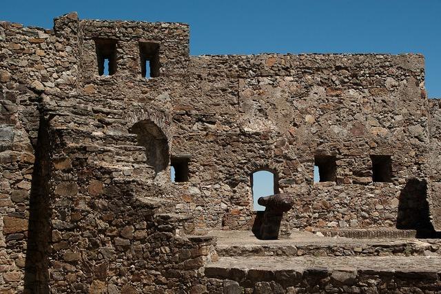 Portugal castle canon.