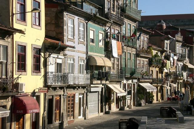 Portugal porto facade.