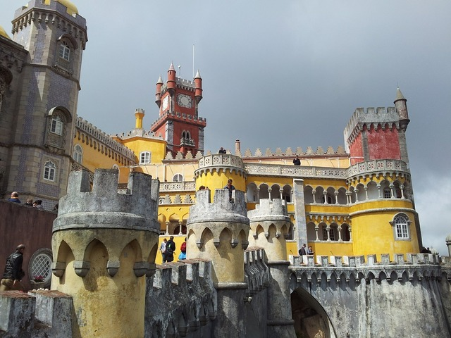 Portugal sintra castle.