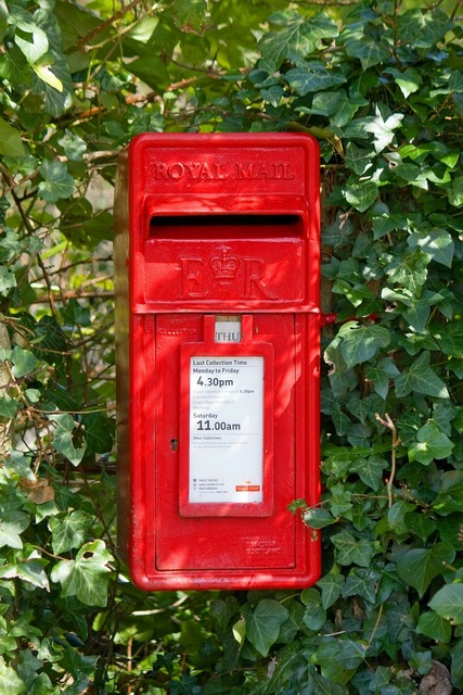 Post box mail box letter box, nature landscapes.