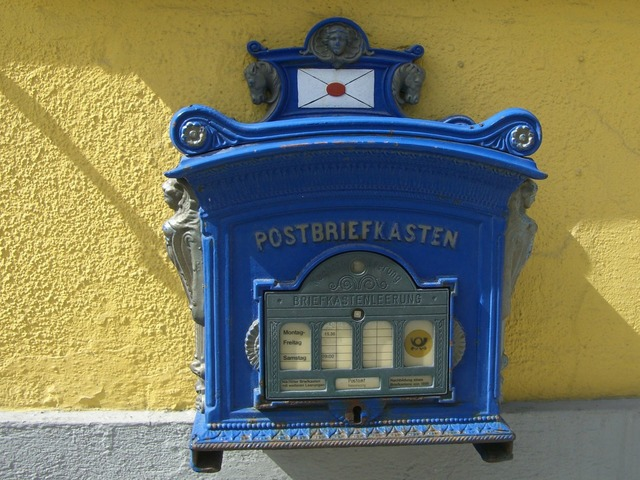 Post mail box nostalgia mailbox.