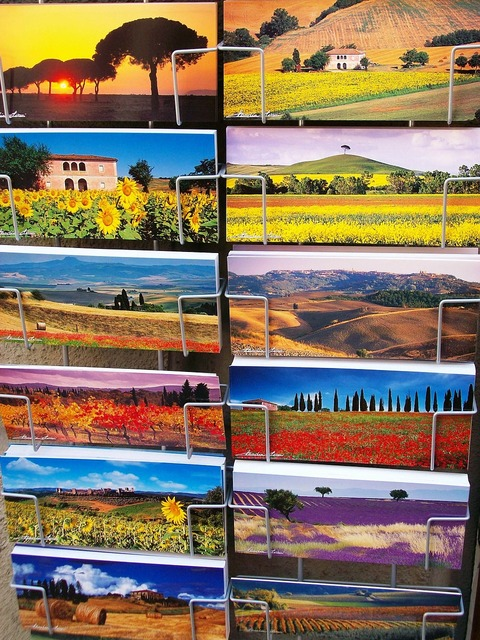 Post postcards italy.