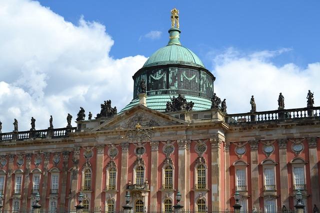 Potsdam castle building, architecture buildings.