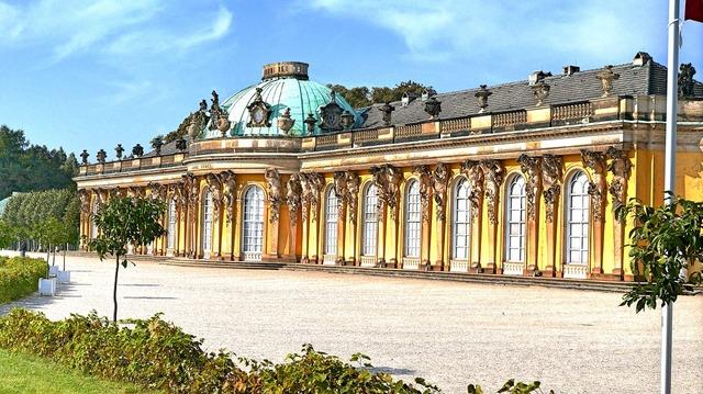 Potsdam castle hdr, architecture buildings.