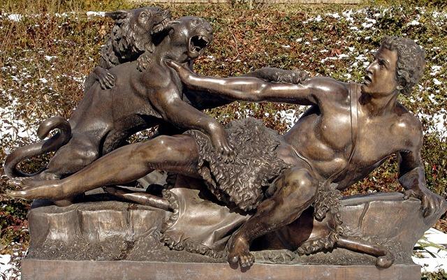 Potsdam park sculpture.