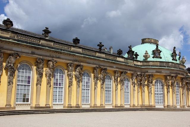 Potsdam sanssouci park sanssouci, architecture buildings.