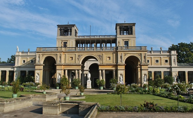 Potsdam schloss sans souci orangery, architecture buildings.