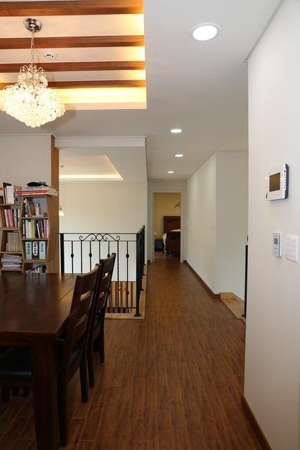 Power house corridor family rooms.