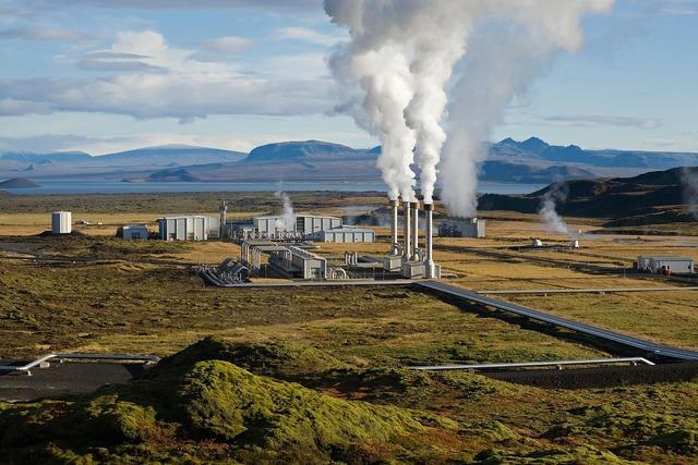 Power plant geothermal geothermal energy.