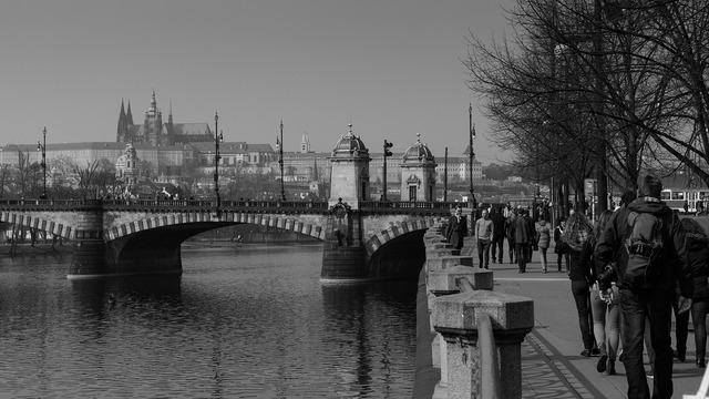 Prague sight seeing tourism, travel vacation.
