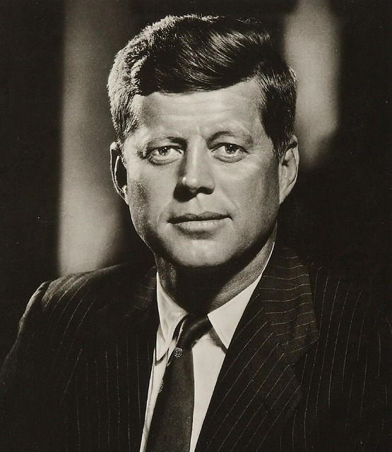 President john kennedy 35th president assassinated.
