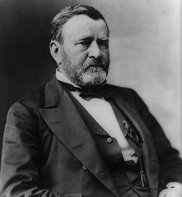 President ulysses grant man, people.