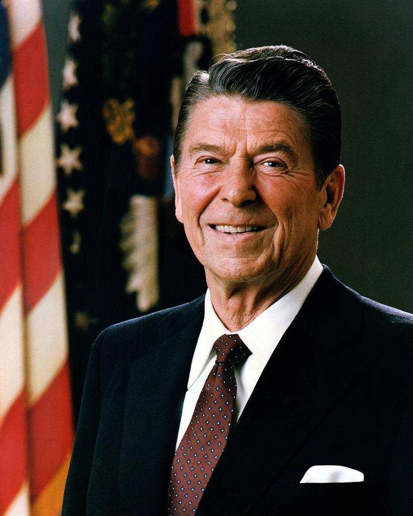 President usa ronald reagan, people.