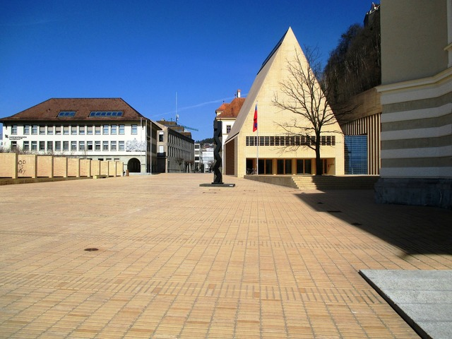 Principality of liechtenstein architecture parliament square, architecture buildings.
