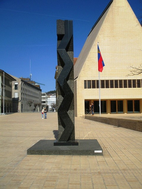 Principality of liechtenstein monument 200 anniversary of sovereignty, architecture buildings.