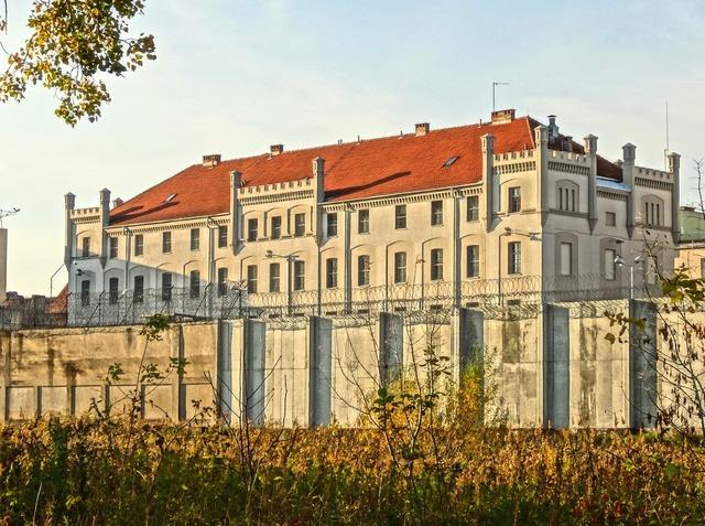 Prison bydgoszcz fordon, architecture buildings.