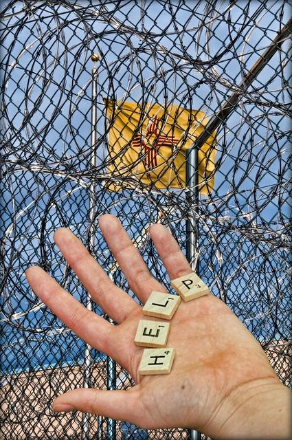 Prison jail detention, people.