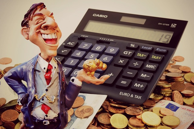 Profit businessman finance, business finance.