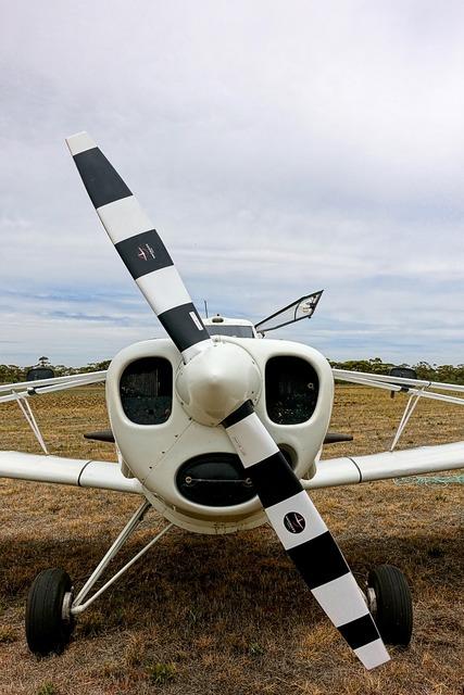 Propeller aircraft aero.