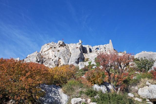 Provence castle monuments.